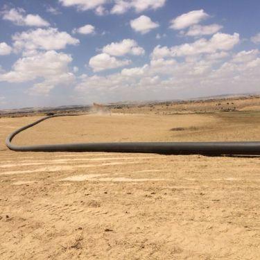 קידוחים לקווי מים בנבטים - ש.ע.ר קידוח ותשתיות